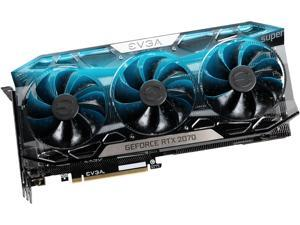 EVGA GeForce RTX 2070 SUPER FTW3 ULTRA GAMING, 08G-P4-3277-KR, 8GB GDDR6, iCX2 Technology, RGB LED, Metal Backplate