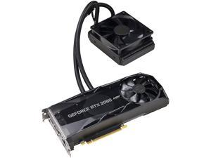EVGA GeForce RTX 2080 SUPER XC HYBRID GAMING, 08G-P4-3188-KR, 8GB GDDR6, RGB LED Logo, Metal Backplate