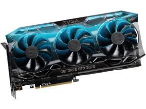 EVGA GeForce RTX 2070 SUPER FTW3 ULTRA+ Video Card, OVERCLOCKED, 2.75 Slot Extreme Cool Triple + iCX2, 65C Gaming, RGB, Metal Backplate, 08G-P4-3377-KR, 8GB 15.5 GHz GDDR6