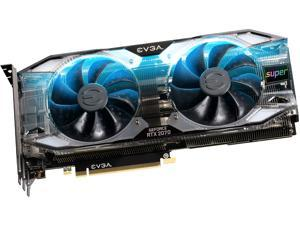 EVGA GeForce RTX 2070 SUPER XC ULTRA+ Video Card, OVERCLOCKED, 2.75-Slot Extreme Cool Dual, 70C Gaming, RGB, Metal Backplate, 08G-P4-3175-KR, 8GB 15.5 GHz GDDR6