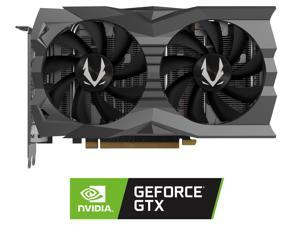 ZOTAC GAMING GeForce GTX 1660 SUPER AMP 6GB GDDR6 192-bit Gaming Graphics Card, Super Compact, IceStorm 2.0 Cooling, Wraparound Metal Backplate - ZT-T16620D-10M
