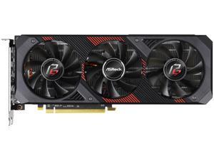 ASRock Phantom Gaming D3 Radeon RX 5600 XT RX5600XT PGD3 6GO 6GB (14Gbps) 192-Bit ...
