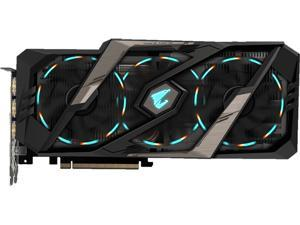 GIGABYTE AORUS GeForce RTX 2080 TI DirectX 12 GV-N208TAORUS X-11GC Video Card