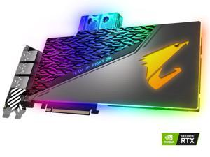 GIGABYTE AORUS GeForce RTX 2080 XTREME WATERFORCE WB 8G Graphics Card, Pre-Installed Waterblock, 8GB 256-Bit GDDR6, GV-N2080AORUSX WB-8GC Video Card