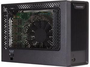 PowerColor Mini - Thunderbolt 3 eGFX Enclosure for macOS Mojave, Installed RX 560 Graphics Card Inside eGPU