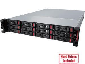 Buffalo TeraStation 51210RH Enterprise - Annapurna Labs Alpine AL-314 Quad-core (4 Core) 1.70 GHz - 12 x Total Bays - 96 TB HDD - 8 GB RAM DDR3 SDRAM - Serial ATA/600 - RAID Supported 0, 1, 5, 6, 10,