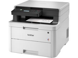 Brother HL-L3290CDW Compact Digital Color All-in-One Printer Providing Laser Printer Quality Results with Convenient Flatbed Copy & Scan, Wireless and Duplex Printing