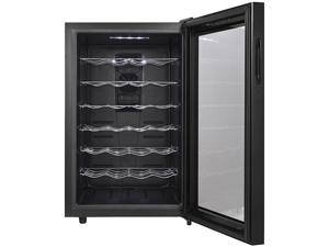 MAGIC CHEF MCWC28B 28-Bottle Wine Cooler, Black