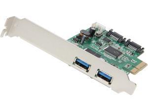SYBA Combo USB 3.0 + SATA III 6Gbps, v2.0 PCI Express, x4 Slot Controller Card Model SD-PEX50055