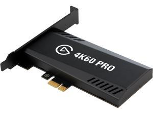 Elgato Game Capture 4K60 Pro MK.2 - 4K60 HDR10 Capture and Passthrough, PCIe Capture Card, Superior Low Latency Technology