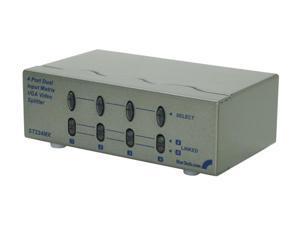StarTech.com 2x4 High Resolution Matrix VGA Video Switch ST224MX