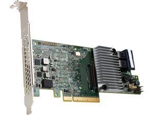 Intel RS3DC080 PCI-Express 3.0 x8 Low Profile Ready SATA / SAS Controller Card