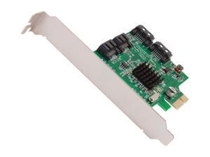 IOCrest SI-PEX40064 PCI-Express 2.0 Low Profile Ready SATA III (6.0 Gb/s) Controller Card