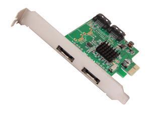 SYBA SI-PEX40065 PCI-Express x1 Low Profile Ready SATA III (6.0Gb/s) Controller Card