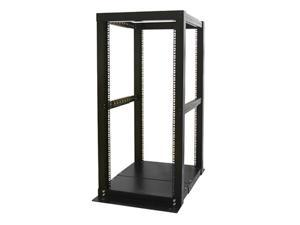 StarTech.com 4POSTRACK25 25U 4 Post Server Open Frame Rack