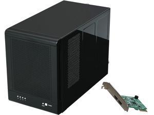 "Rosewill RSV-S4-6G - 4-Bay 3.5"" Hot-Swap Spanning & JBOD Enclosure - RAID 0 / 1 / 10 / 5 / 5 + Spare - Controller Card Bundle - Up to 6 Gbps Transfer Rate"