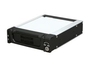 "iStarUSA T-7-SA Rugged 5.25"" to 3.5"" SATA SAS 6 Gbps HDD Hot-swap Rack"