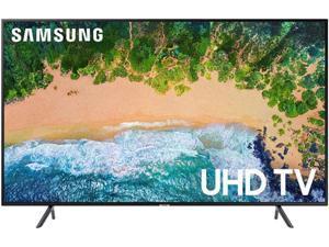 "Samsung NU7100 43"" 4K UHD HDR Smart TV UN43NU7100FXZA"