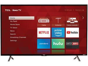 "TCL Class 3-Series 32"" HD LED ROKU Smart TV 32S305"