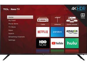 "TCL Class 6-Series 55"" 4K UHD HDR Dolby Vision ROKU Smart TV 55R617"