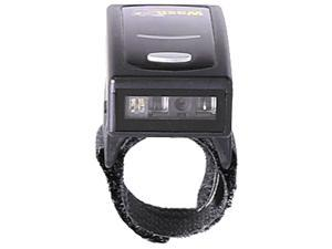 Wasp 633809004018 WRS100SBR Wearable 1D Ring Barcode Scanner,  Bluetooth 4.1 - Black