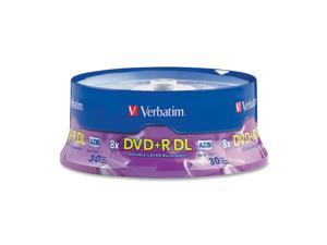 Verbatim 8.5 GB 8X DVD+R DL 30 Packs Disc - Model 96542