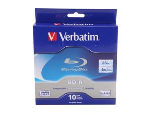 Verbatim 25GB 6X BD-R 10 Packs Disc Model 97238