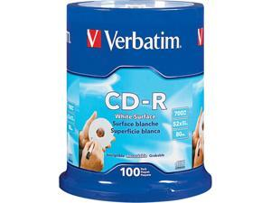 Verbatim 700MB 52X CD-R 100 Packs Disc Model 94712