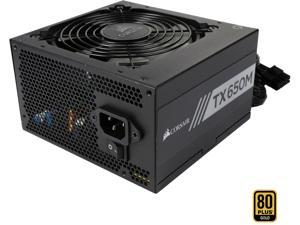 CORSAIR TX-M Series TX650M (CP-9020132-NA) 650W ATX12V v2.4 / EPS 2.92 80 PLUS GOLD Certified Semi-Modular Active PFC Power Supply