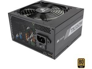 CORSAIR TX-M Series TX550M CP-9020133-NA 550W ATX12V v2.4 / EPS v2.92 80 PLUS GOLD Certified Semi-Modular Power Supply