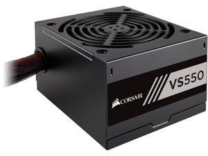 CORSAIR VS Series, VS550, 550 Watt (550W), Active PFC, 80 PLUS White Certified Power Supply