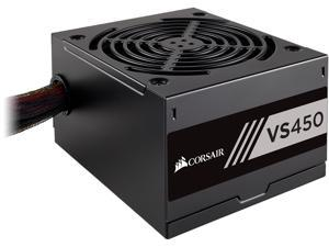 CORSAIR VS Series, VS450, 450 Watt (450W), Active PFC, 80 PLUS White Certified Power Supply