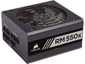 CORSAIR RMx Series RM550x CP-9020177-NA 550W ATX12V / EPS12V 80 PLUS GOLD Certified Full Modular Power Supply
