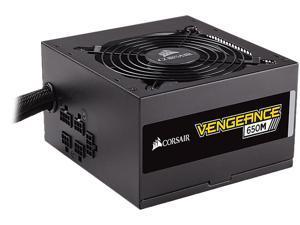 CORSAIR Vengeance 650M CP-9020175-NA 650W ATX12V / EPS12V 80 PLUS SILVER Certified Semi-Modular Power Supply