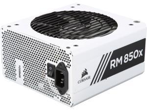 CORSAIR RMx White Series RM850x White (CP-9020188-NA) 850W 80 PLUS Gold Certified, Fully Modular Power Supply, 10 Year Warranty