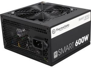 Thermaltake Smart Series 600W SLI / CrossFire Ready Continuous Power ATX12V V2.3 / EPS12V 80 PLUS Certified Active PFC Power Supply Haswell Ready PS-SPD-0600NPCWUS-W