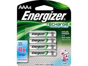 ENERGIZER e2 Rechargeable 1.2V 850mAh AAA Ni-MH Rechargeable Battery, 4-pack