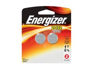 ENERGIZER Lithium 2032/CR2032 2032BP2 220mAh 3V Coin Cell Battery, 2-pack