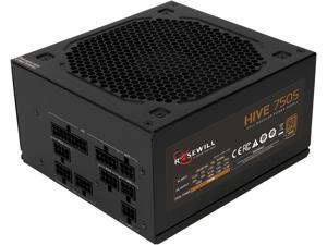 Rosewill Hive Series 750W Modular Gaming Power Supply, 80 PLUS Bronze Certified, Single +12V Rail, Intel 4th Gen CPU Ready, SLI & CrossFire Ready - Hive-750