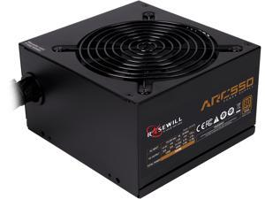 Rosewill ARC-550, ARC Series 550W Gaming Power Supply, 80 PLUS Bronze Certified, Single +12V Rail, Intel 4th Gen CPU Ready, SLI & CrossFire Ready