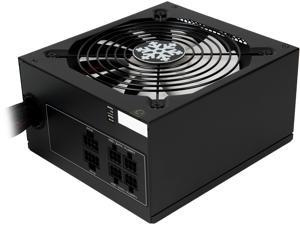 Rosewill Glacier Series 700W Semi-Modular Gaming Power Supply  with Silent Aero-Diversion Fan, 80 PLUS Bronze Certified, Single +12V Rail, Intel 4th Gen CPU Ready, SLI & Crossfire Ready - Glacier-700M