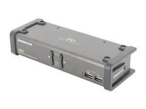 IOGEAR GCS1102 2-Port DVI KVMP Switch w/ Cables