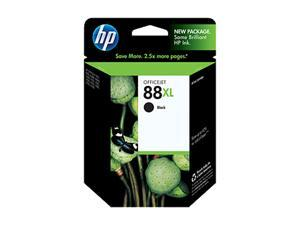 HP 88XL High Yield Ink Cartridge - Black