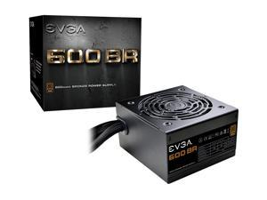 EVGA 600 BR 100-BR-0600-K1 600W ATX12V / EPS12V SLI CrossFire 80 PLUS BRONZE Certified Non-Modular Active PFC Power Supply