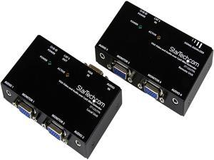 StarTech.com ST122UTPA VGA Video Extender over Cat 5 with Audio - Up to 500ft (150m) - VGA over Cat5 Extender - 1 Local and 1 Remote