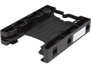 ICY DOCK Tool-less Dual 2.5 to 3.5 HDD Drive Bay SSD Mount / Kit / Bracket / Adapter - EZ-Fit Lite MB290SP-B
