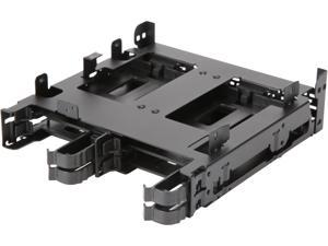 "ICY DOCK FLEX-FIT Quinto MB344SPO Tool-less 4x 2.5"" SSD / HDD & Slim / Ultra-Slim ODD Mounting Bracket for 5.25"" Bay"