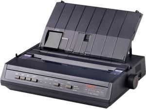 OKIData 62448701 Oki Microline 186 Plus - Receipt Printer - Dot-Matrix - 240 X 216 Dpi - 9 Pin - Up To 375 Char/Sec - Parallel, Usb - Black
