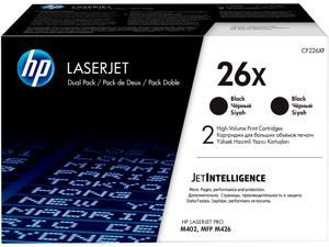 HP 26X High Yield LaserJet Toner Cartridge - Dual Pack - Black
