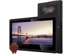 "Worry Free Gadgets 7DRK-IP-BLK Allwinner A33 Cortex A7 512 MB Memory 4 GB Flash Storage 7"" 1280 x 800 Tablet PC Android 4.4.2 (KitKat) Black"